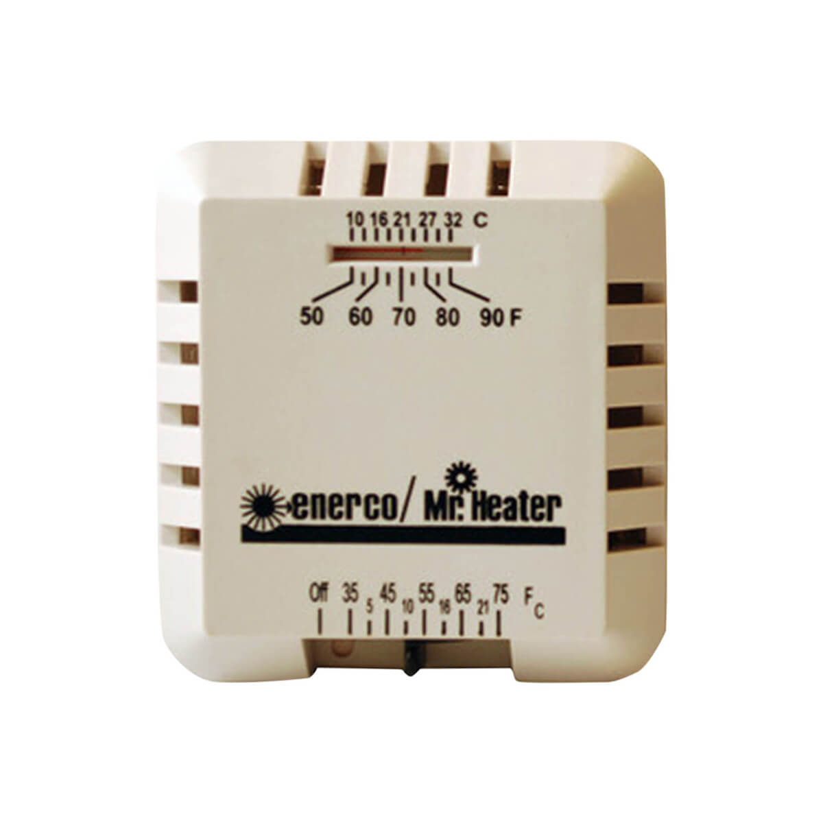 Mr. Heater Square Mechanical Non-Programmable Thermostat