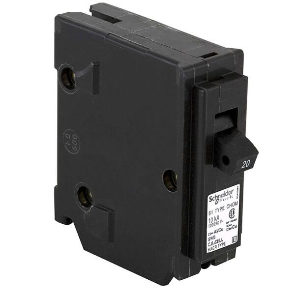 Schneider Electric Homeline Single Pole Circuit Breakers  - 20 AMP