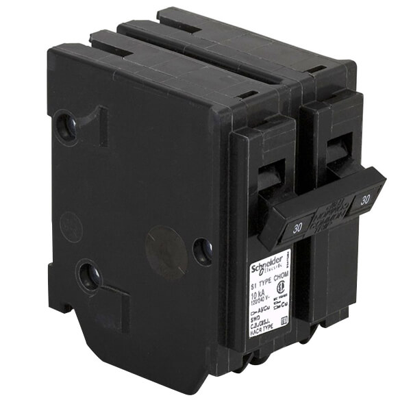 Schneider Electric Homeline Double Pole Circuit Breakers - 30A