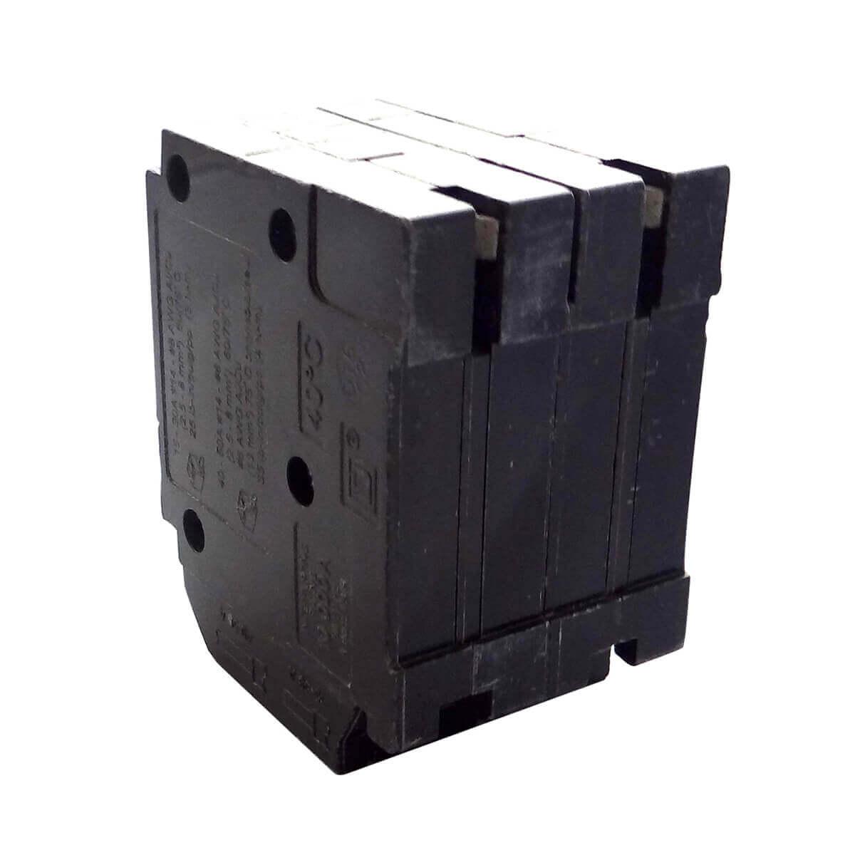 15A Single Pole x2 / 40A Double Pole Quad Plug-On Circuit Breaker