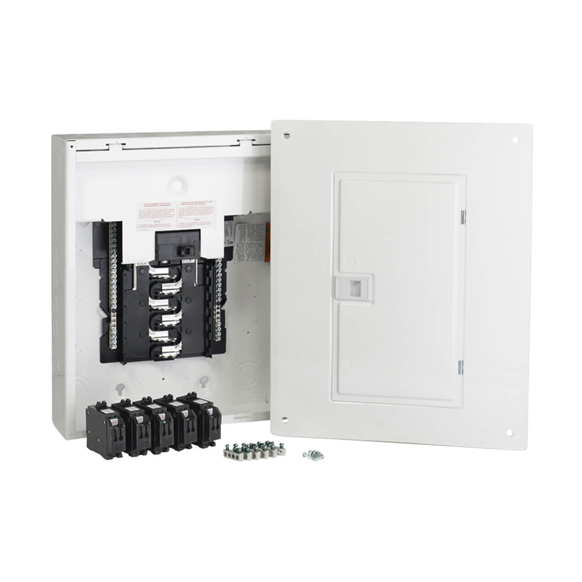 Circuits Maximum HomeLine Retrofit Panel Package with Breakers - 100 Amp, 12 Spaces/24