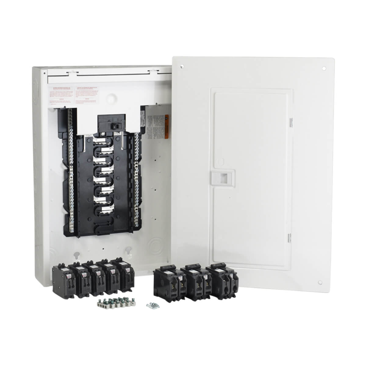 Schneider Electric 100 Amp 32 Circuit Homeline Panel Package with Breakers