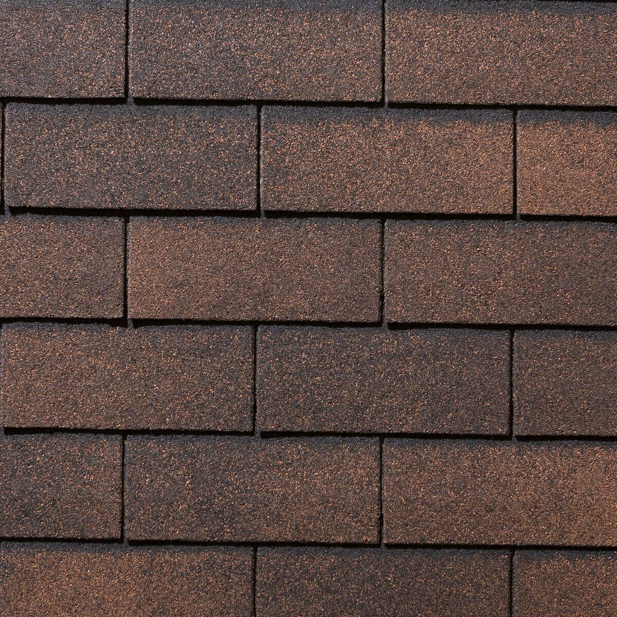 Yukon 3-tab Roofing Shingles - Autumn Brown