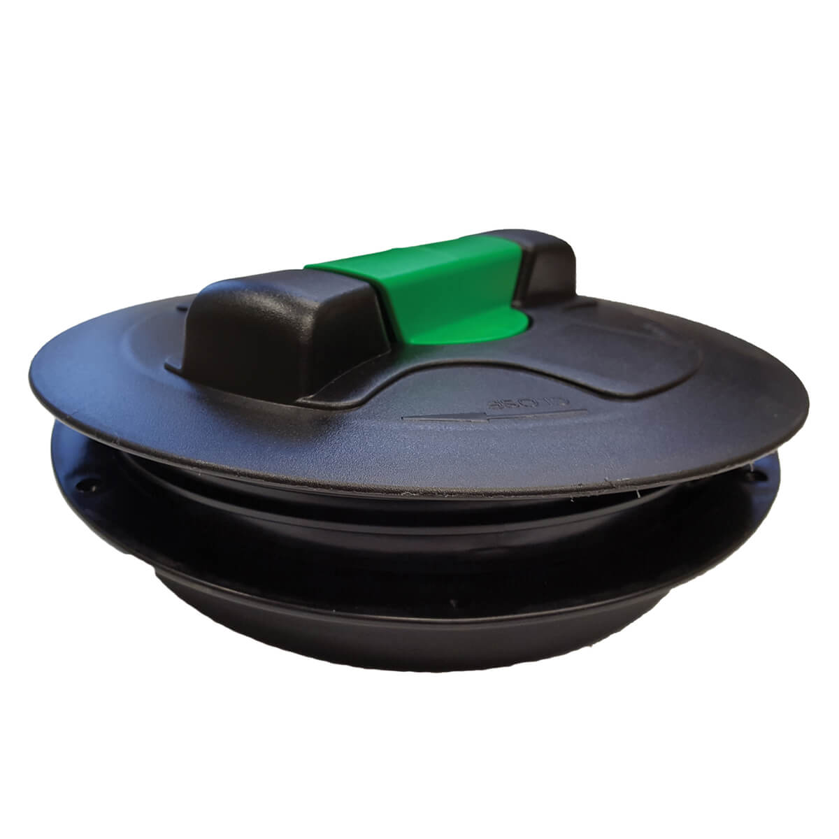 """Poly Vented Lid with Rim  - 8"""""""