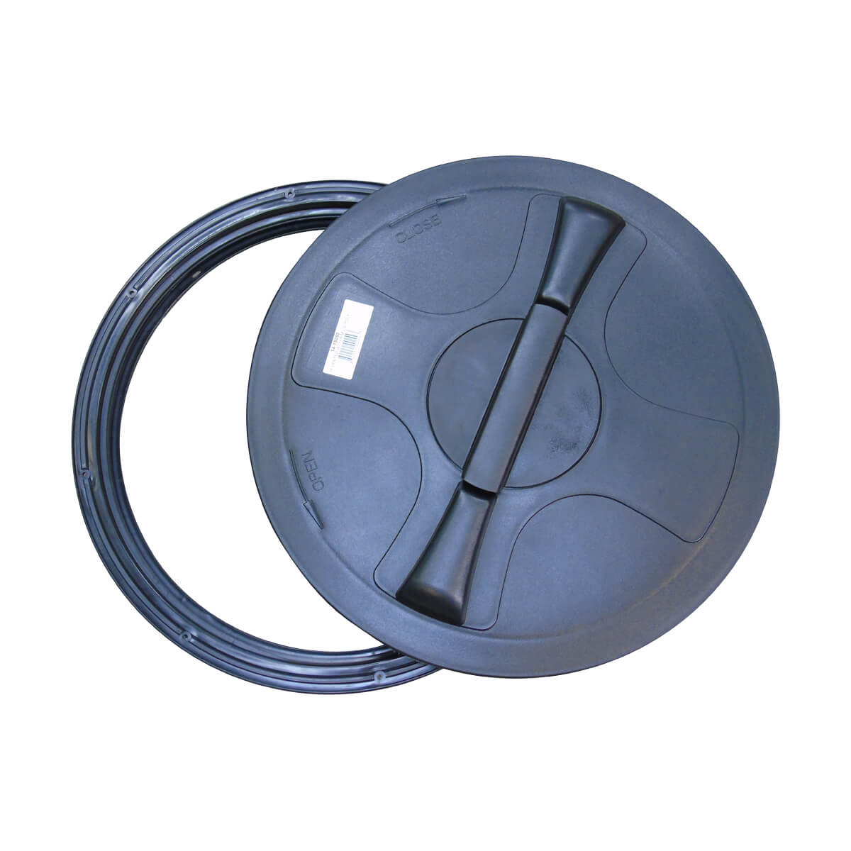 """Poly Vented Lid with Rim  - 16"""""""