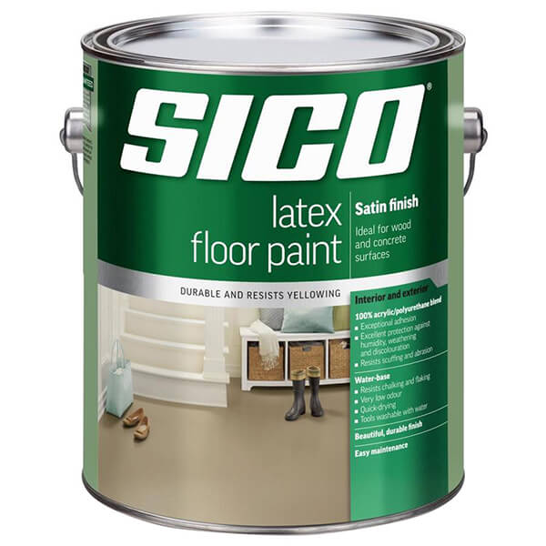 Satin Finish Interior & Exterior Latex Floor Paint Series 261