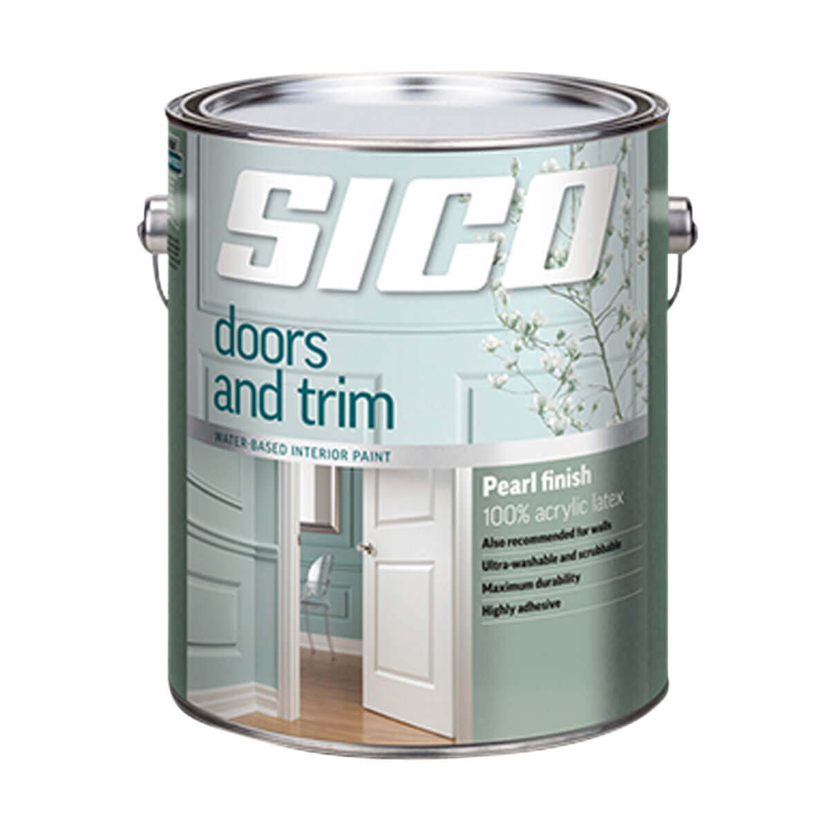Sico Doors & Trim 100% Acrylic Interior Latex Paint Series 165