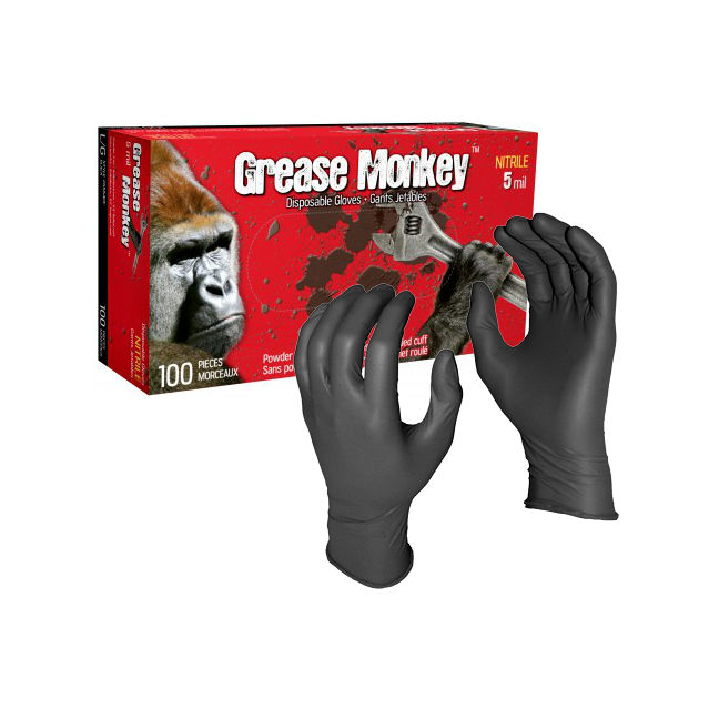 Grease Monkey™ Trade Gloves - 5 mil