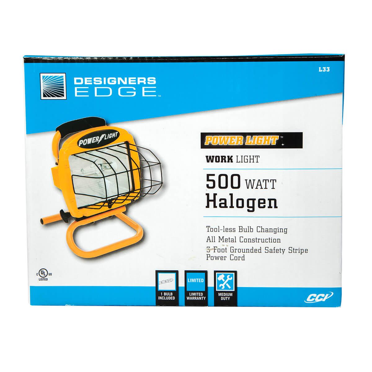 500W Halogen Portable Work Light