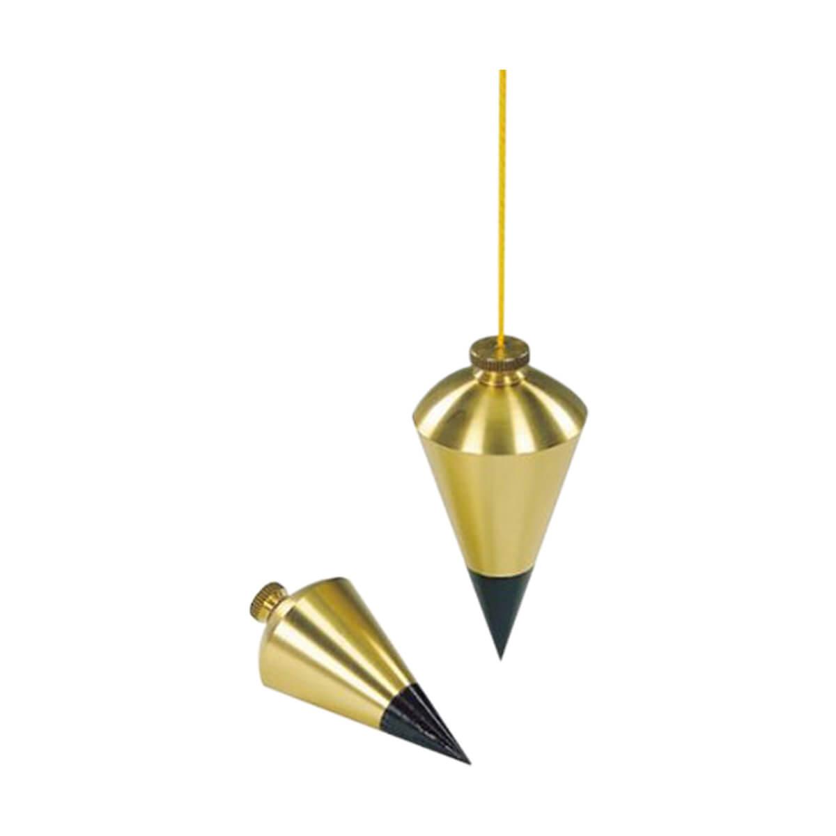 Stanley 8oz. Brass Plumb Bob - 47-973