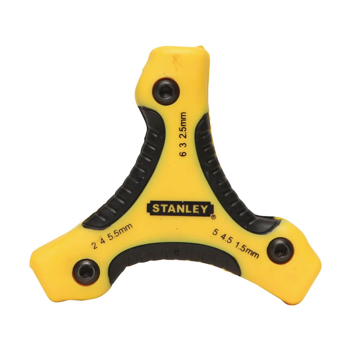 Stanley Folding Hex Key Set 9 pc. - METRIC