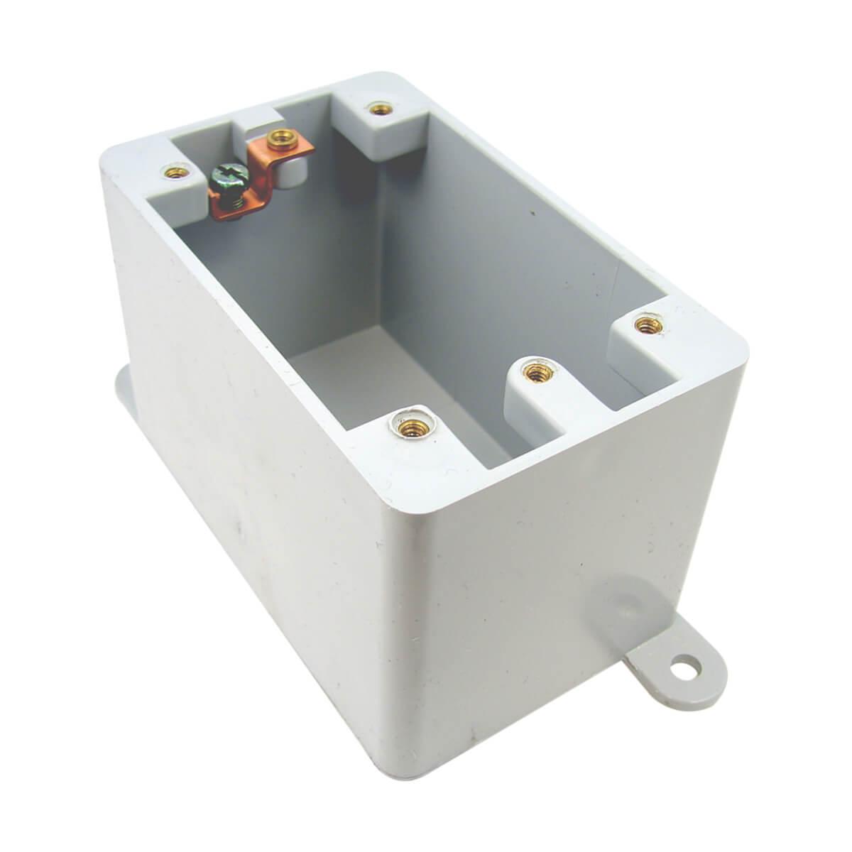PVC FD Single Gang - Deep Box