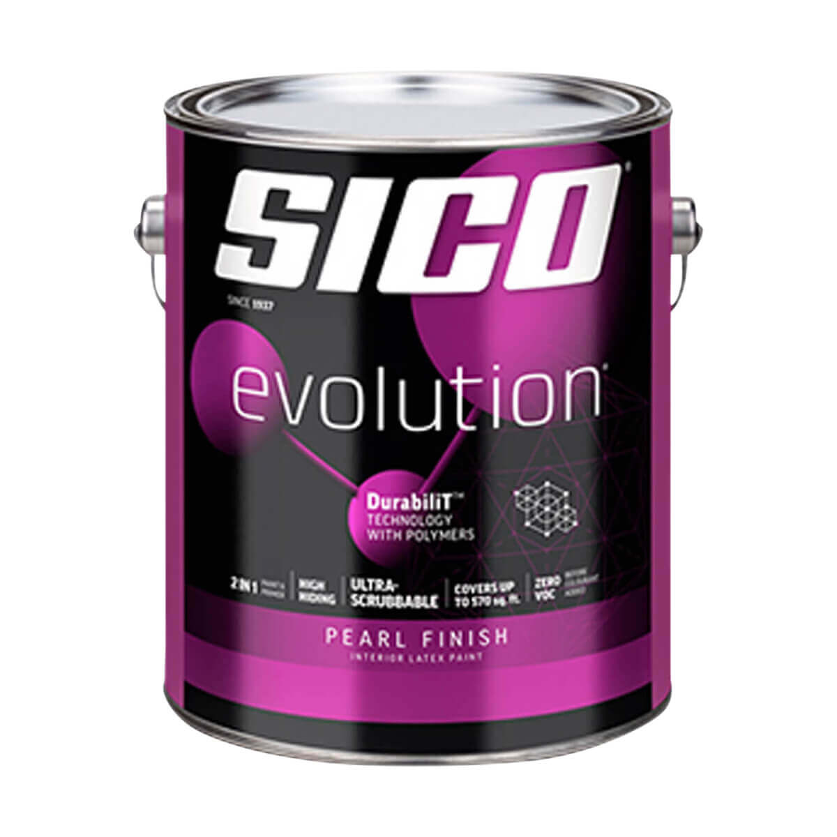 Sico Evolution Pearl Finish Interior Latex Paint Series 866