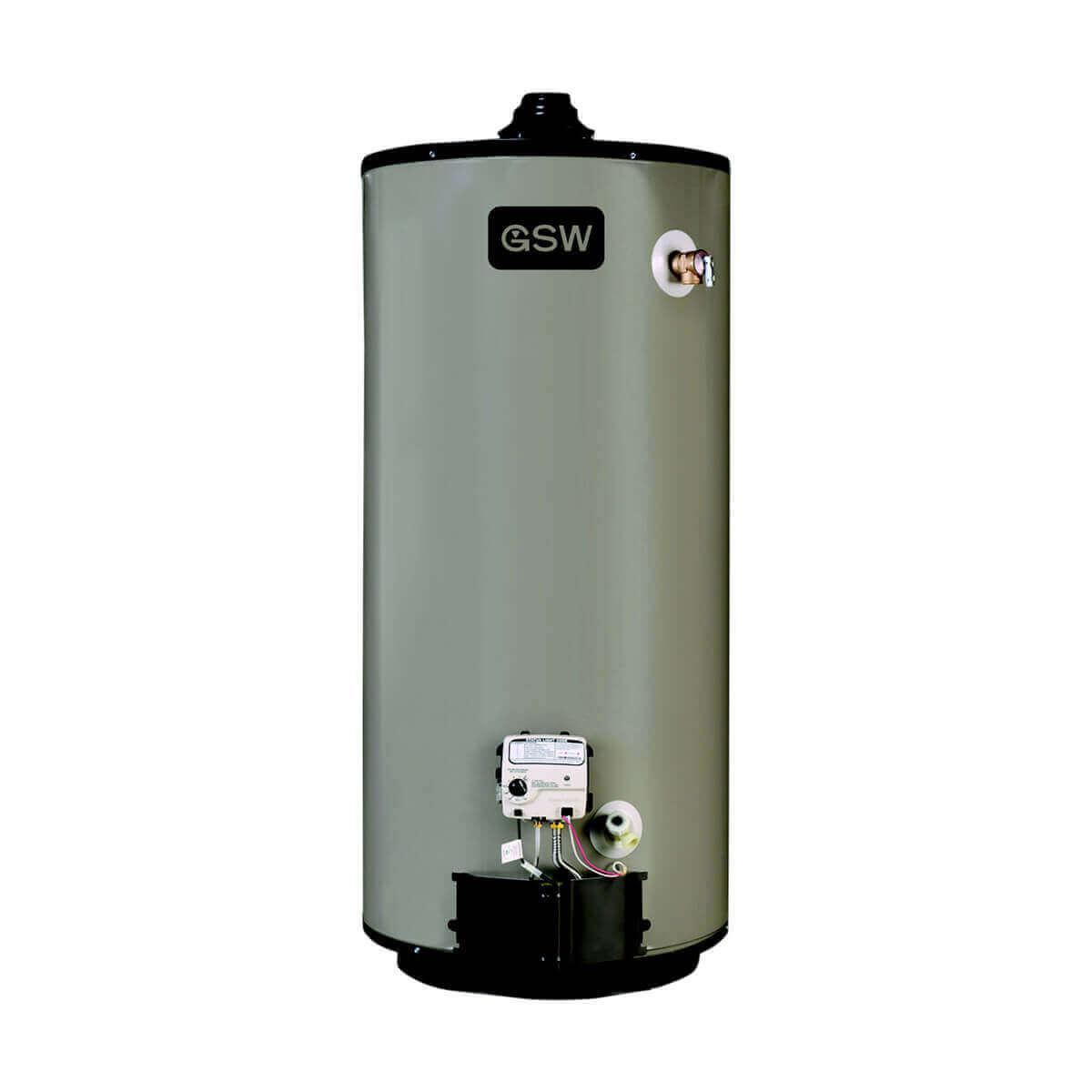 40 Gal. Natural Gas Hot Water Heater  - B4676