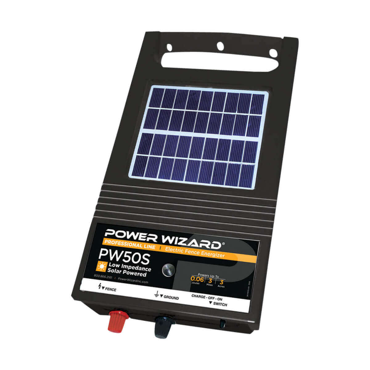 Power Wizard 6V Solar Energizer