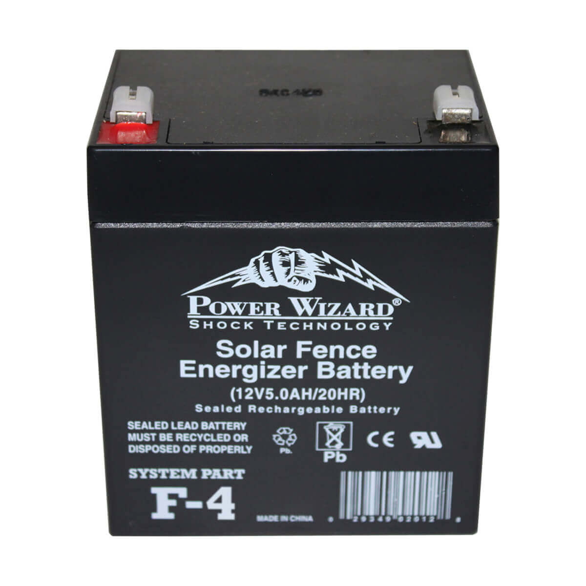 Power Wizard F-4 6V Solar Replacement Battery
