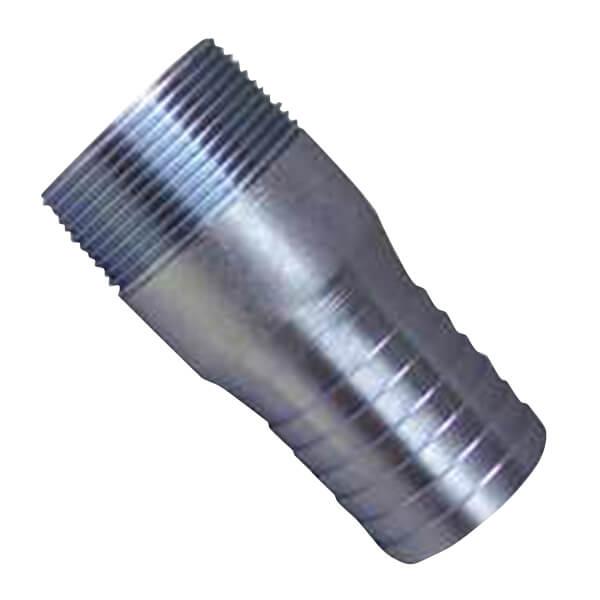 "Galvanized Male Insert Adapter 1/2"" - 1-1/2"""