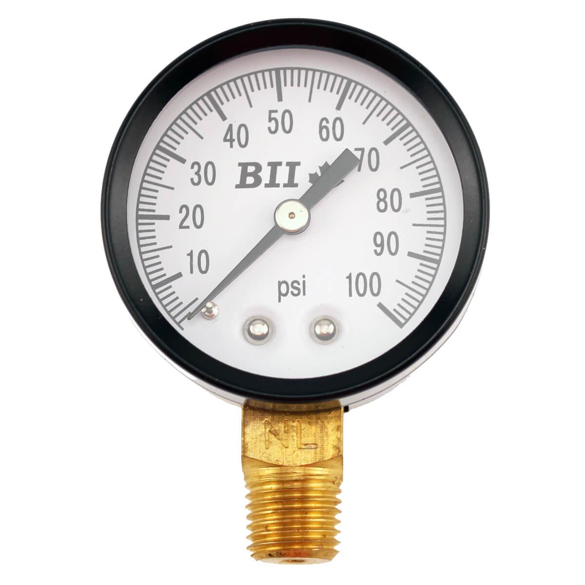 Pressure Gauges - 1/4-in