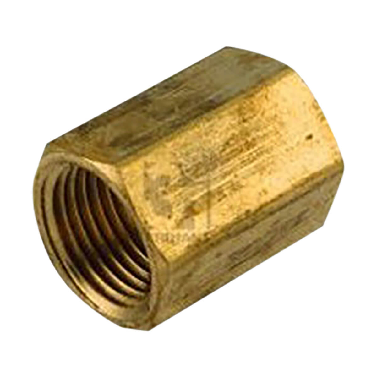 Brass Coupling - 1/2-in