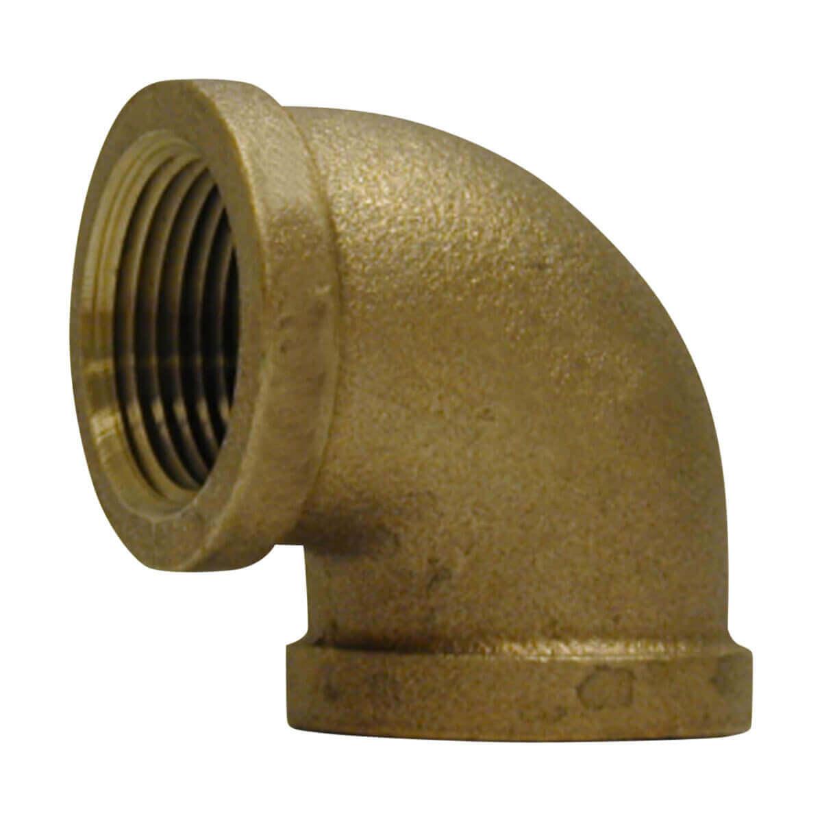 Bronze Elbow - 1-in