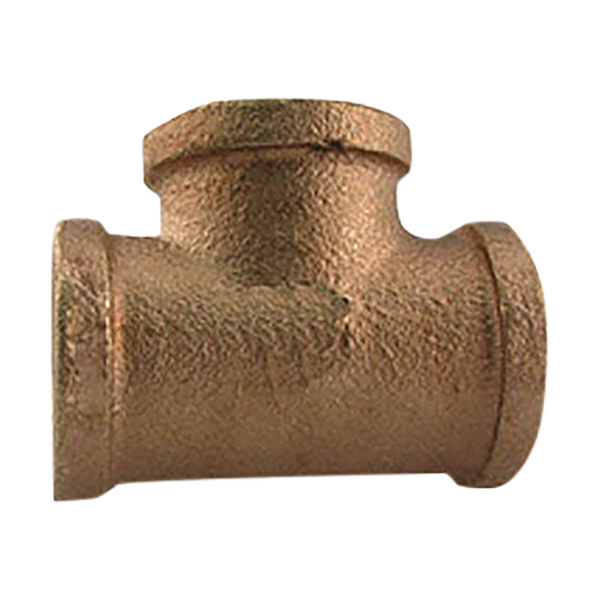 Brass Tee Coupling - 1/2-in