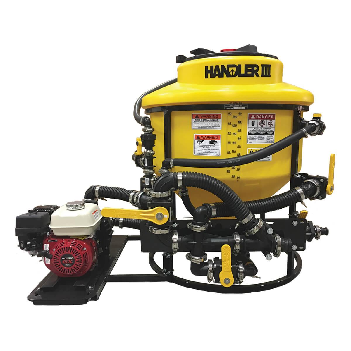 """Handler 3 With 2"""" Plumbing, 5.5Hp Honda And 2"""" Banjo Pump"""