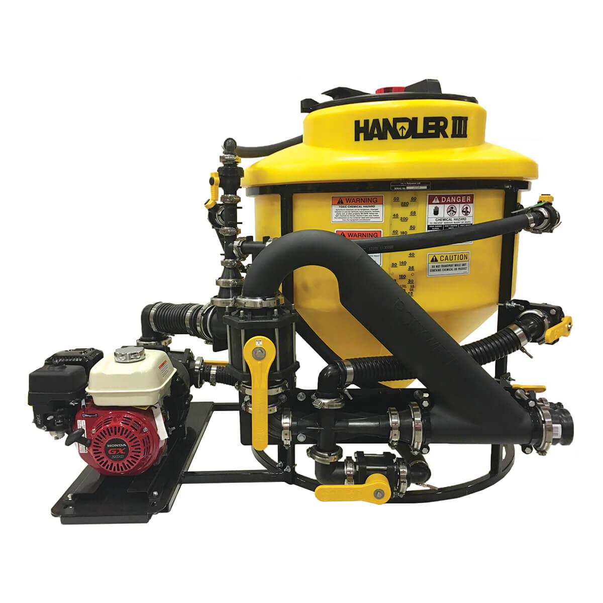 """Handler 3 With 3"""" Plumbing, 6.5Hp Honda And 3"""" Banjo Pump"""