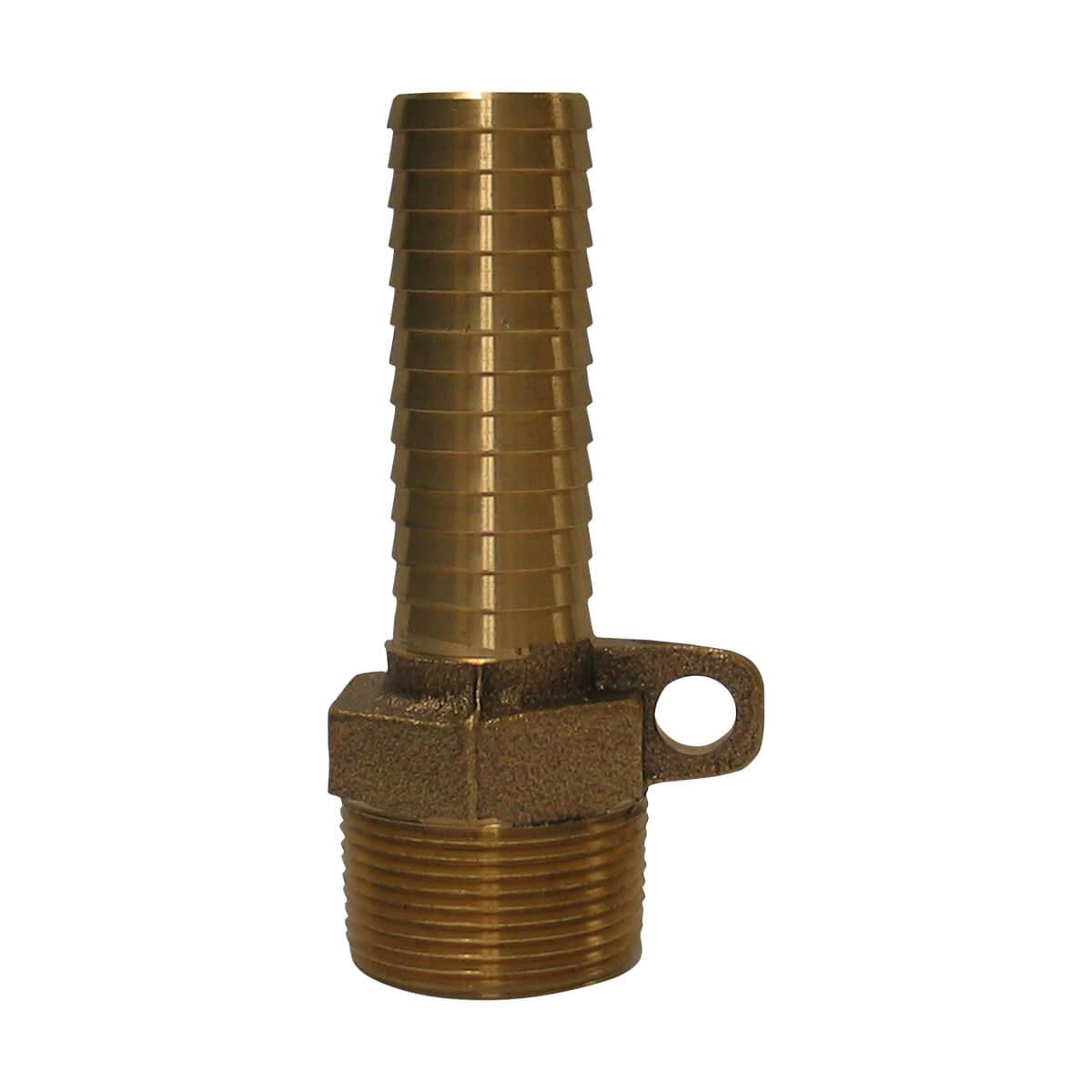 "Bronze Easy Tie Male Insert Adapter  - 1-1/4"""