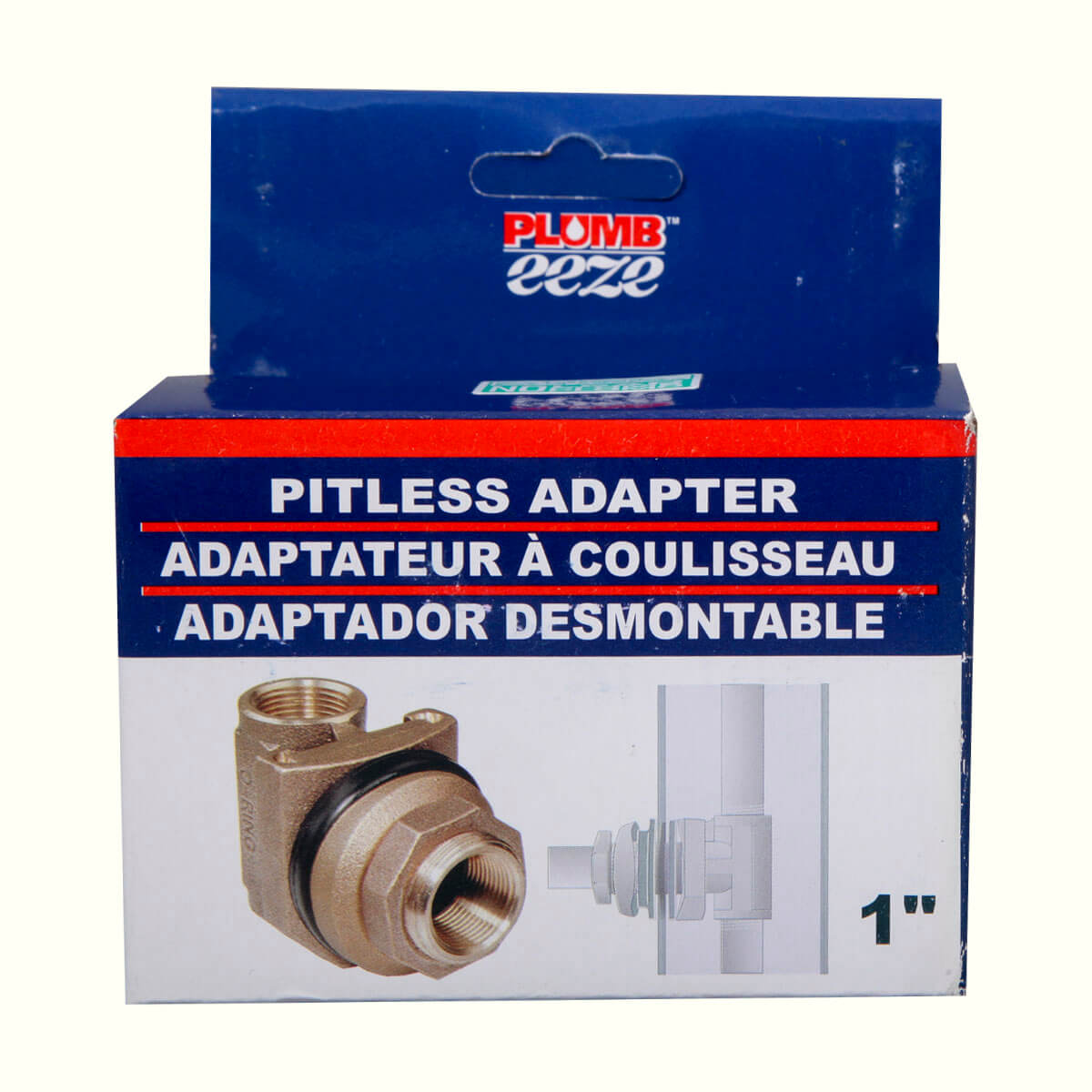Pitless Adapters (No Lead) - 1""
