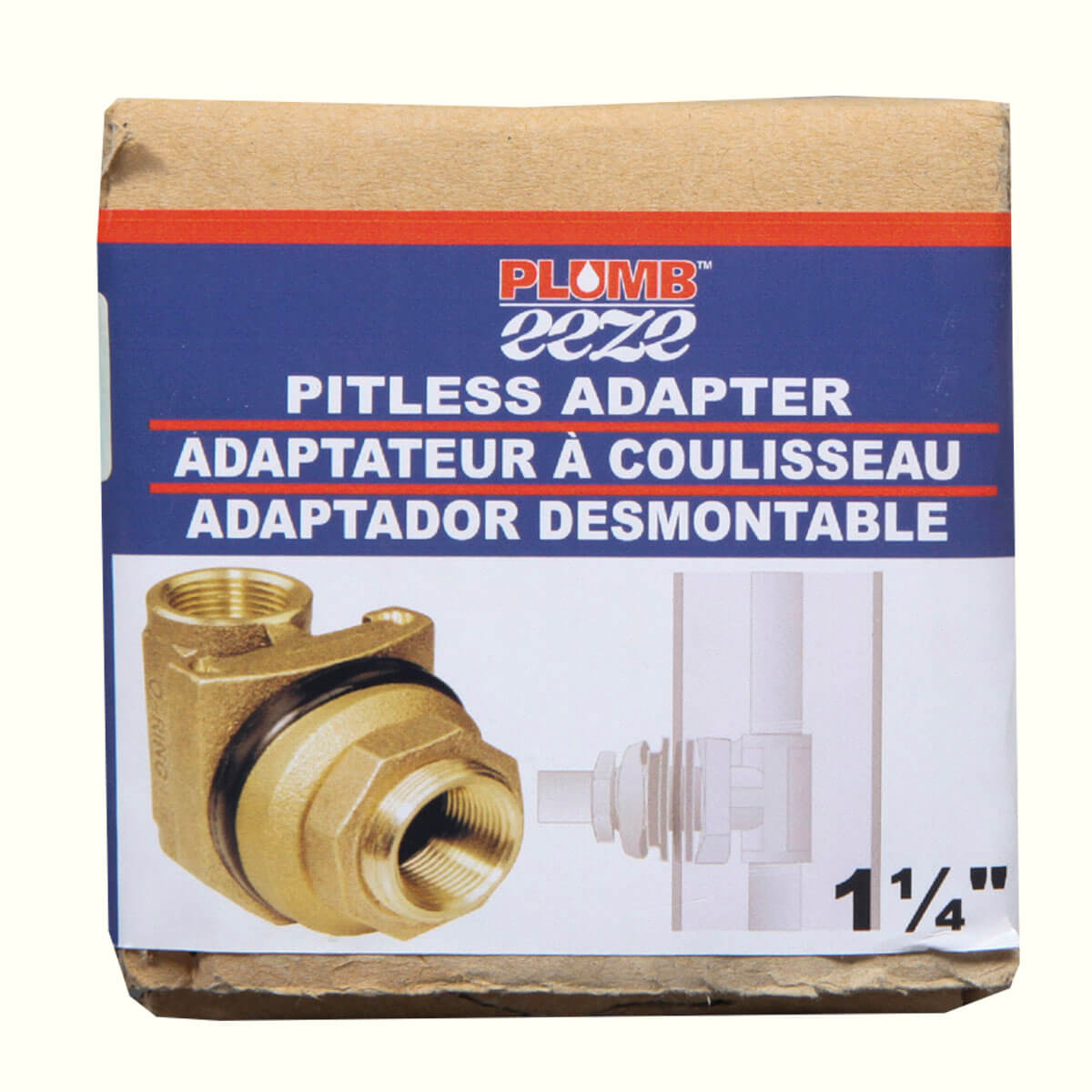 """Pitless Adapters (No Lead) - 1-1/4"""""""