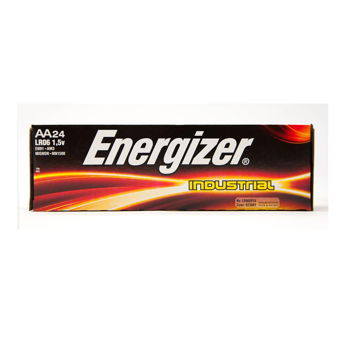 Energizer Industrial AA Batteries - 24-Pack