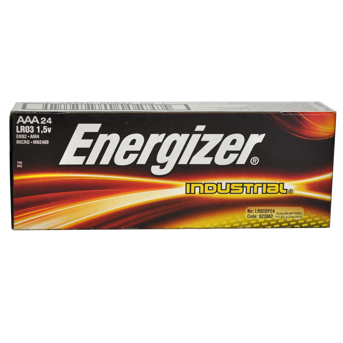 Energizer Industrial AAA Batteries  - 24-Pack