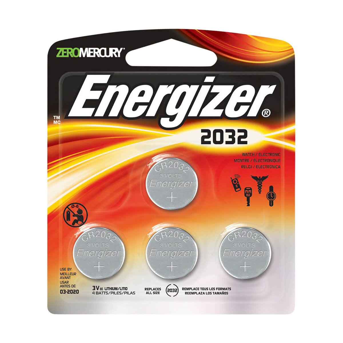Energizer® Coin Lithium Battery