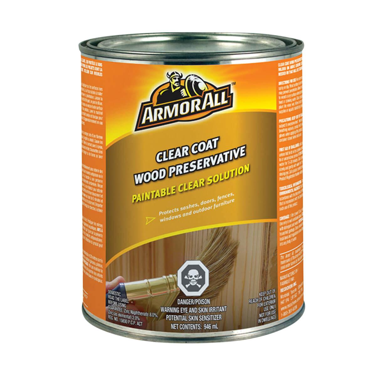 Armor All® 3.78L Clear Coat Wood Preservative