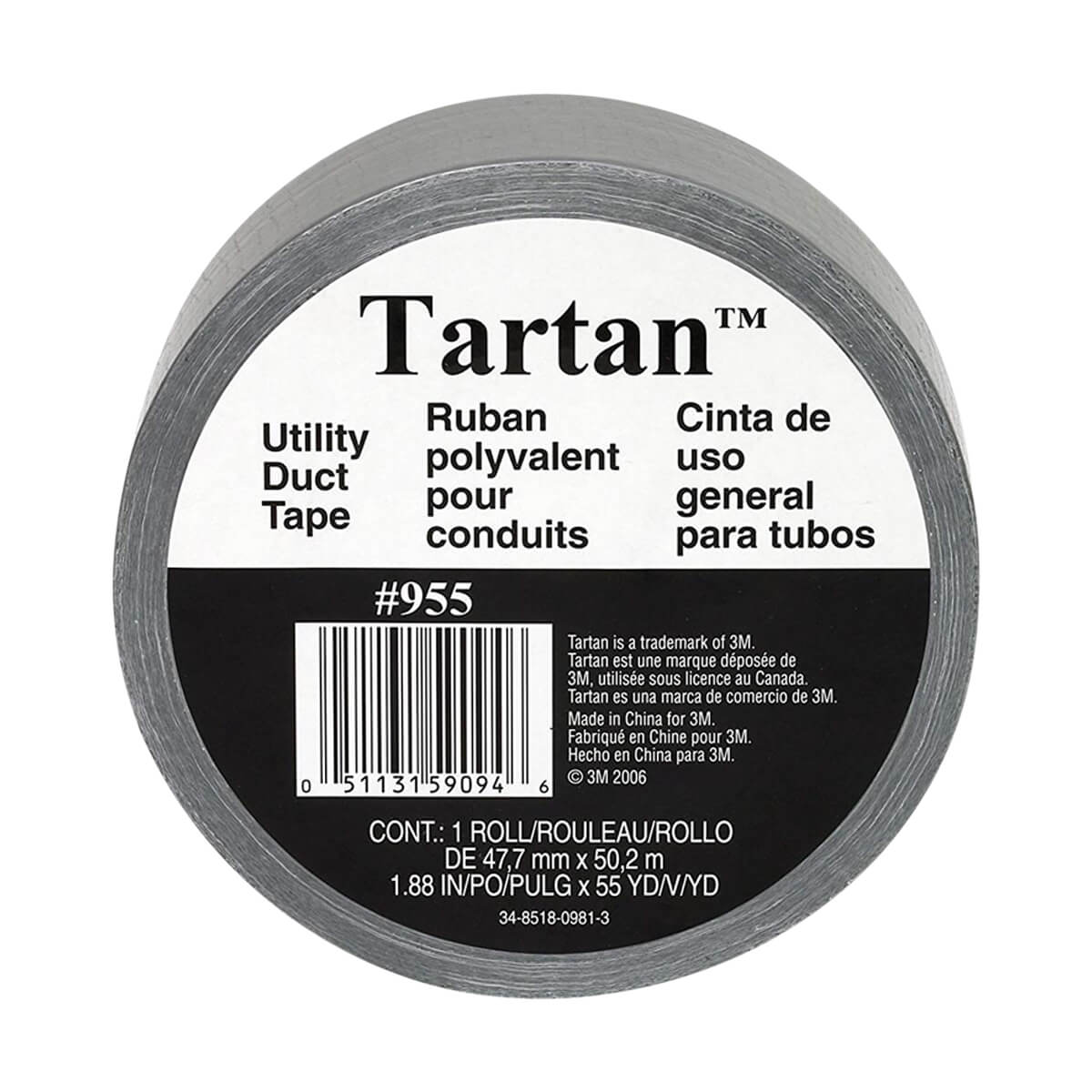 3M Tartan Utility Duct Tape