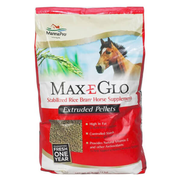 Max-E-Glo® Stabilized Rice Bran - Pellet - 18 kg