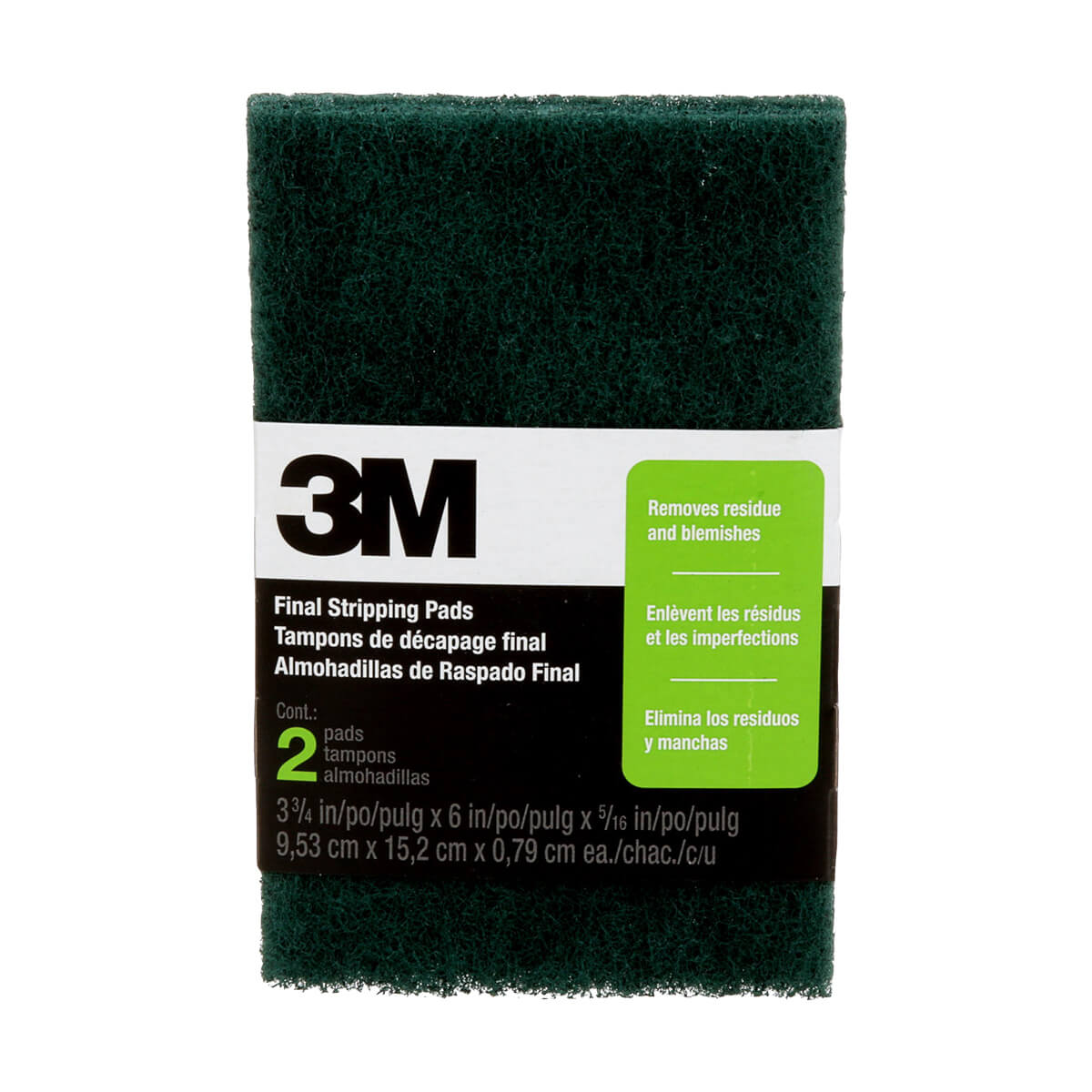 3M - Final Stripping Pad - 12-Pack