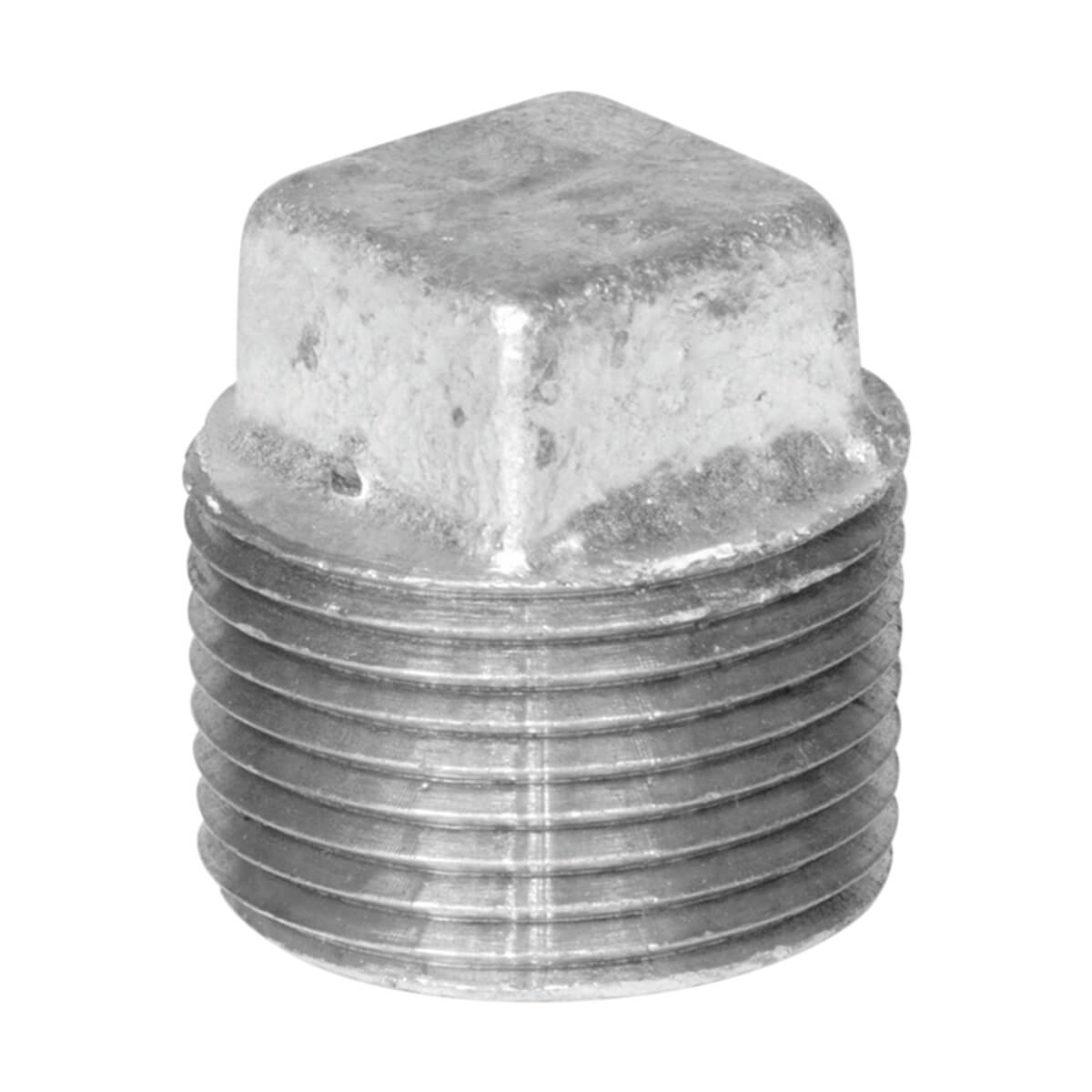 Fitting Galvanized Iron Plug - 1-1/2-in