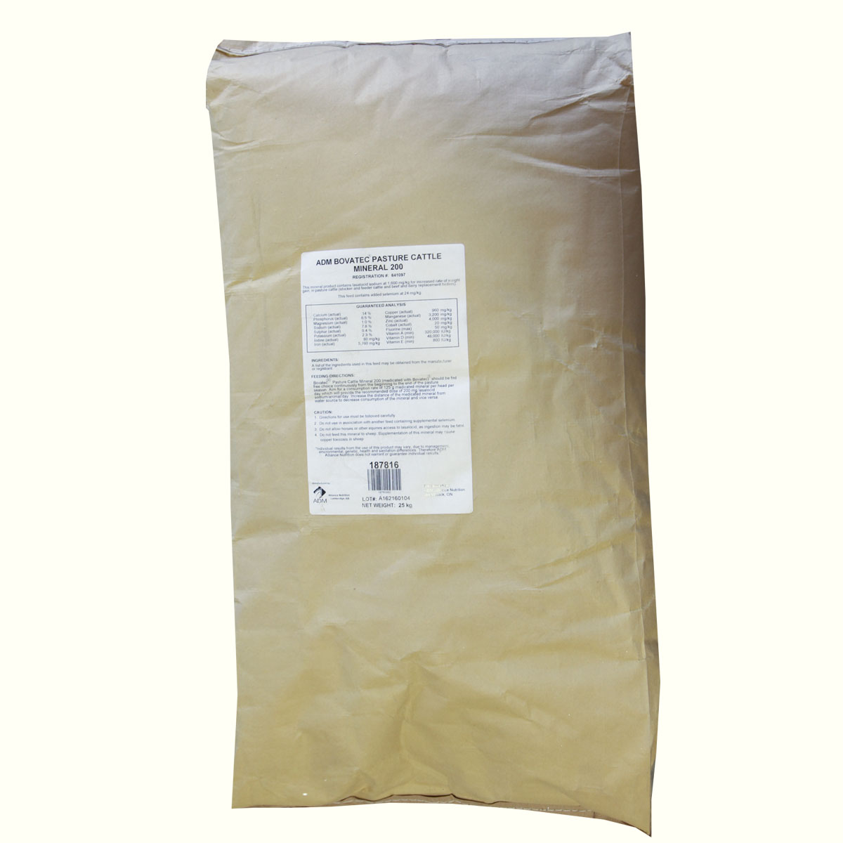 Bovatec Pasture Mineral 200 - 25 kg