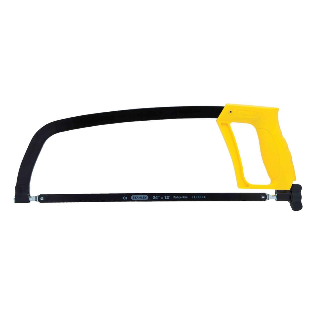 """Stanley 12"""" Solid Frame Hacksaw"""