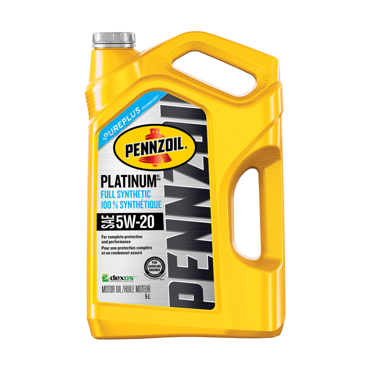 Shell Pennzoil Platinum Synthetic 5W-20 - 5 L