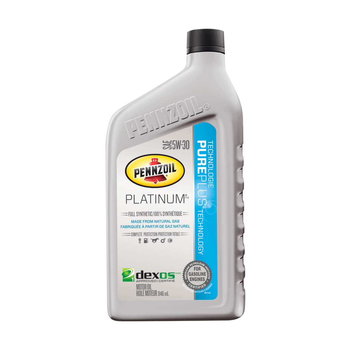 Shell Pennzoil Platinum Synthetic 5W-30 - 946 ml