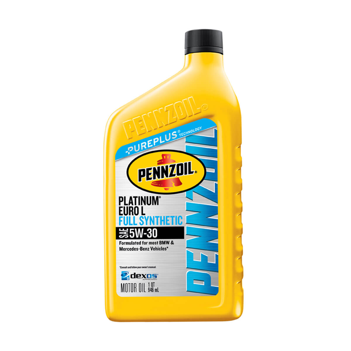 Shell Pennzoil Platinum Euro Synthetic 5W-30 - 0.946L