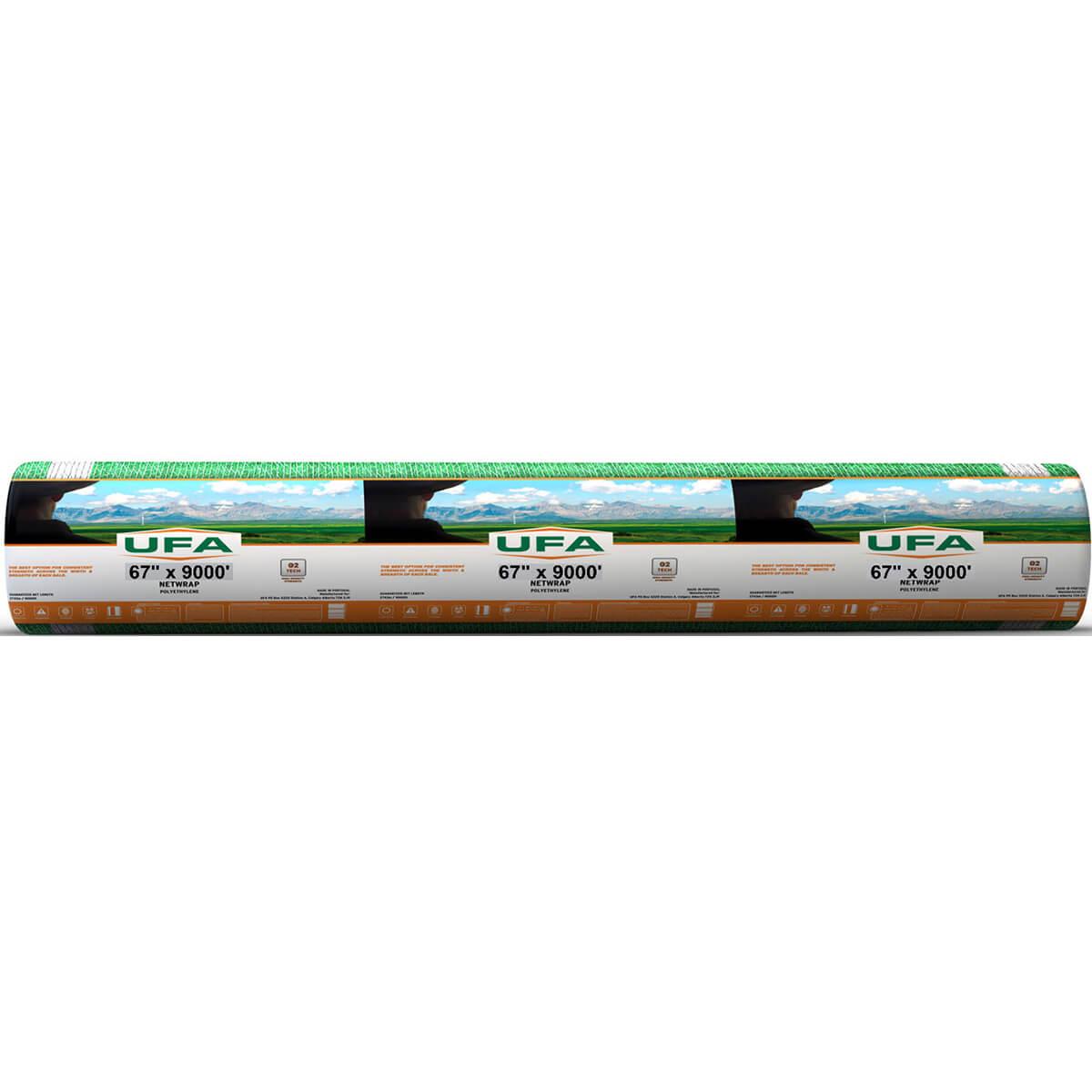 """UFA 9,000' Net Wrap  - 67"""" x 9000'"""
