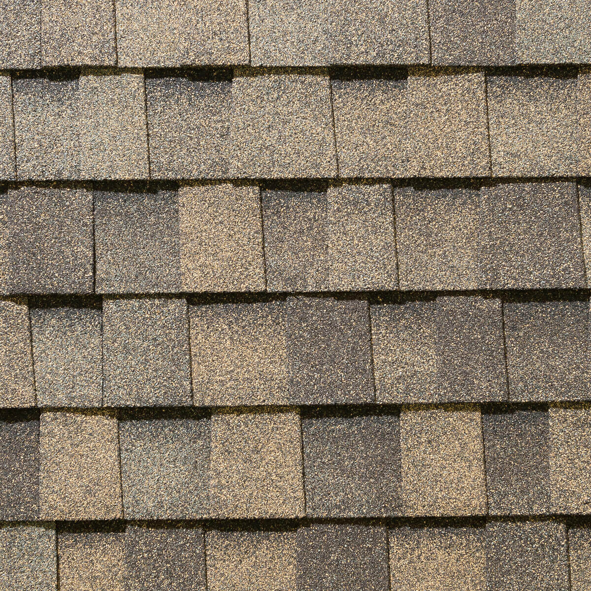 Mystique Laminated Roofing Shingles - Weathered Rock