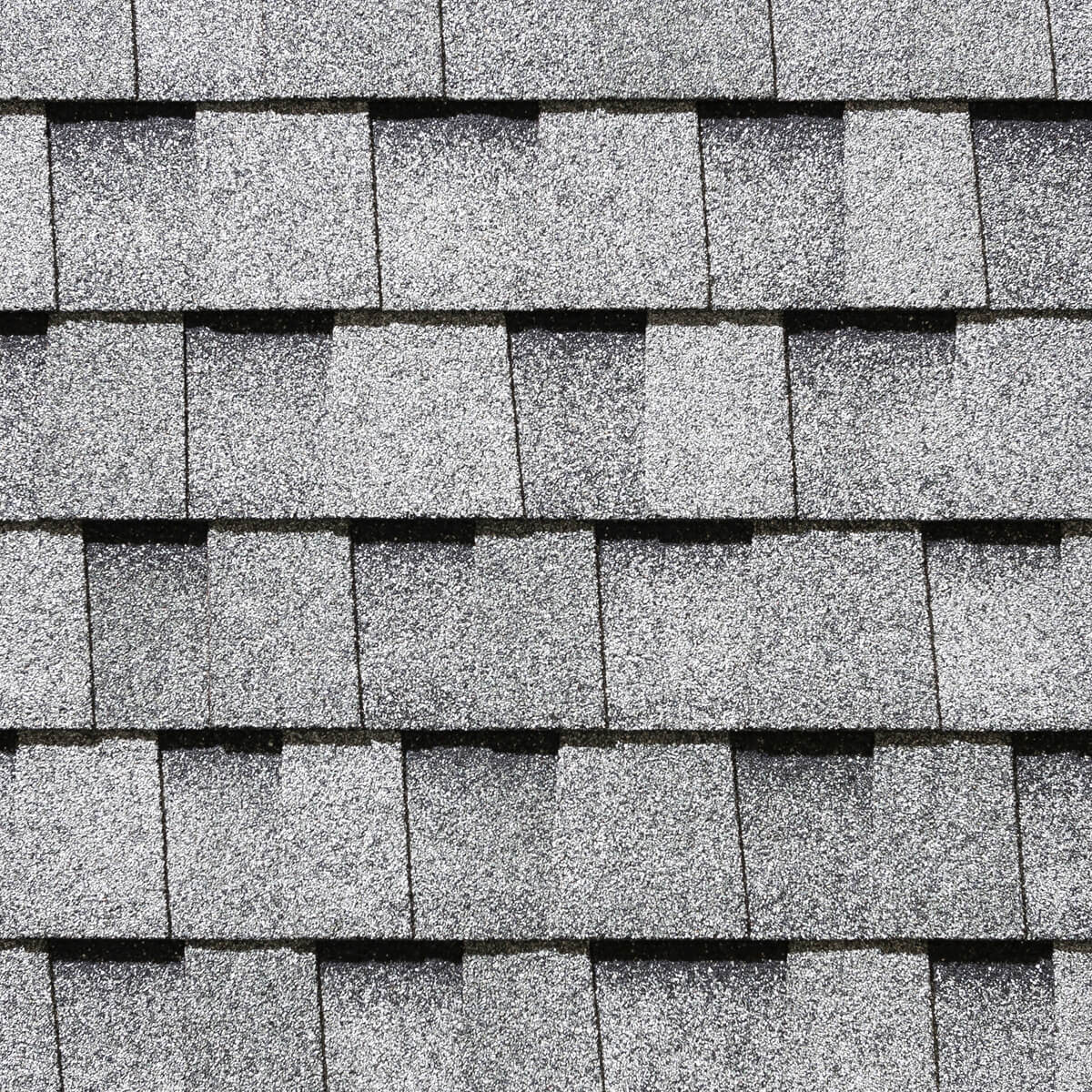 Mystique Laminated Roofing Shingles - Silver Grey