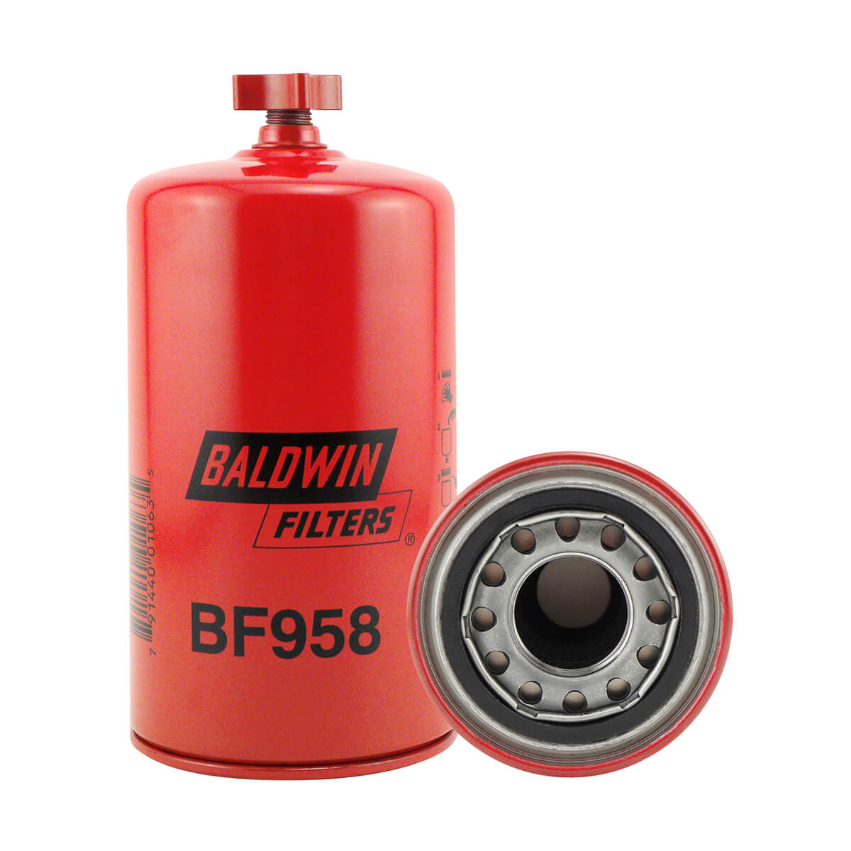 Baldwin Fuel BF958 Filter