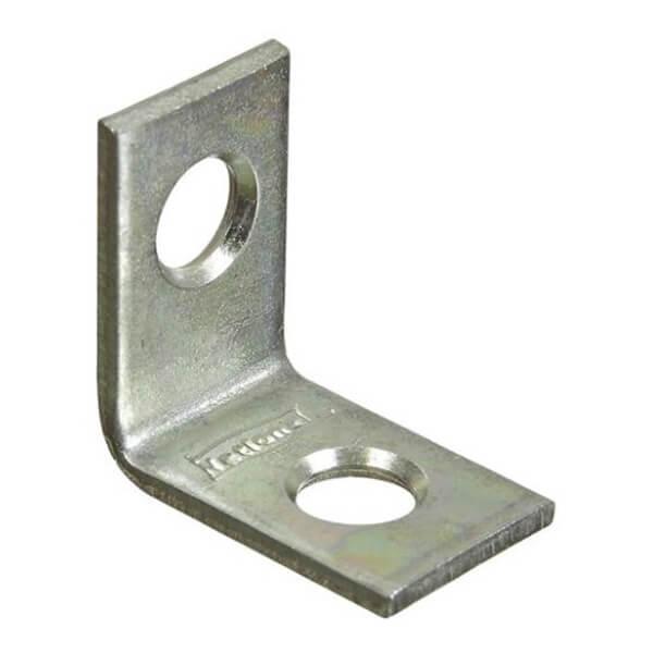 "Corner Brace - (Zinc)  - 3/4"" x 1/2"""