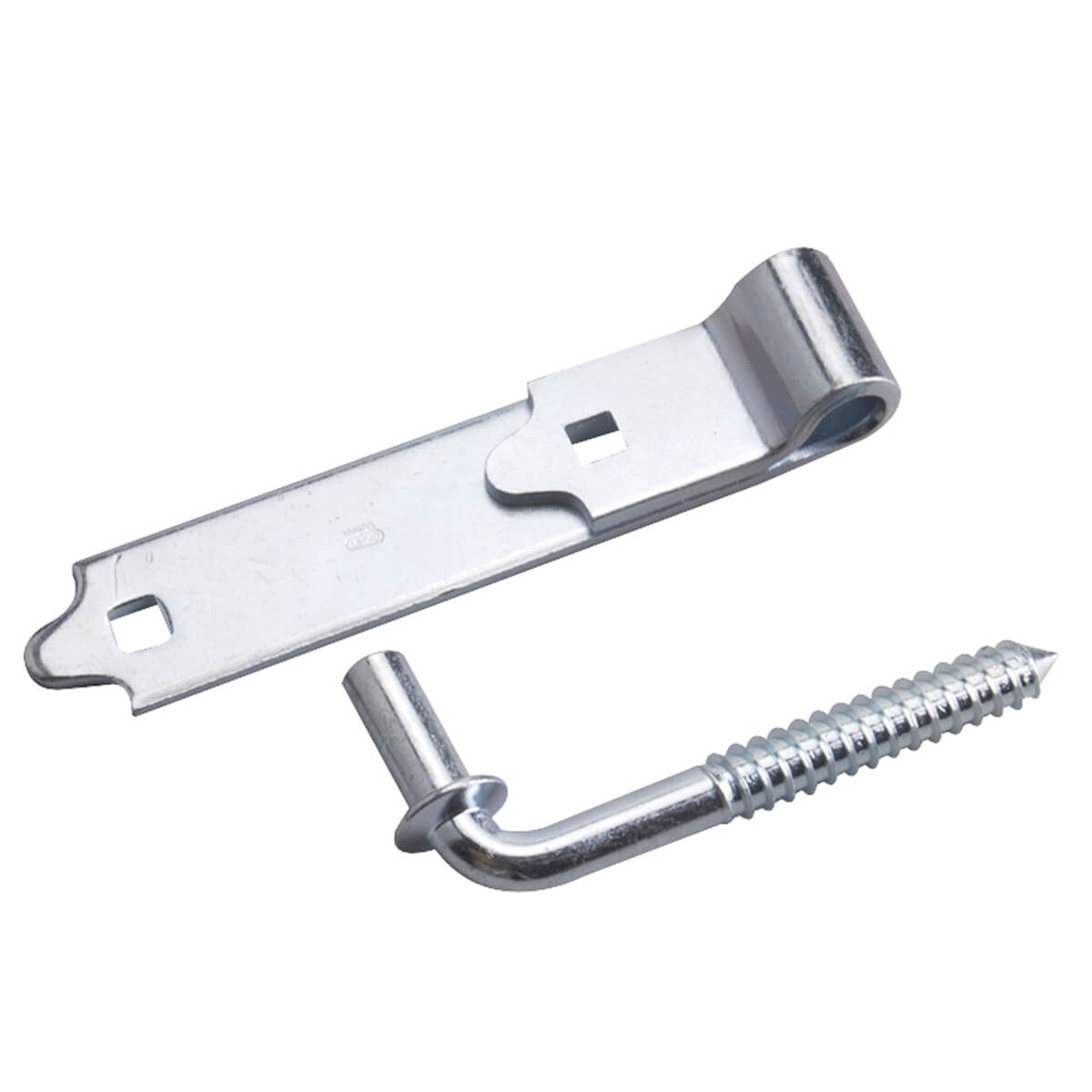 """Screw Hook with Strap Hinge  - 6"""" - (SWL) 100 lb."""