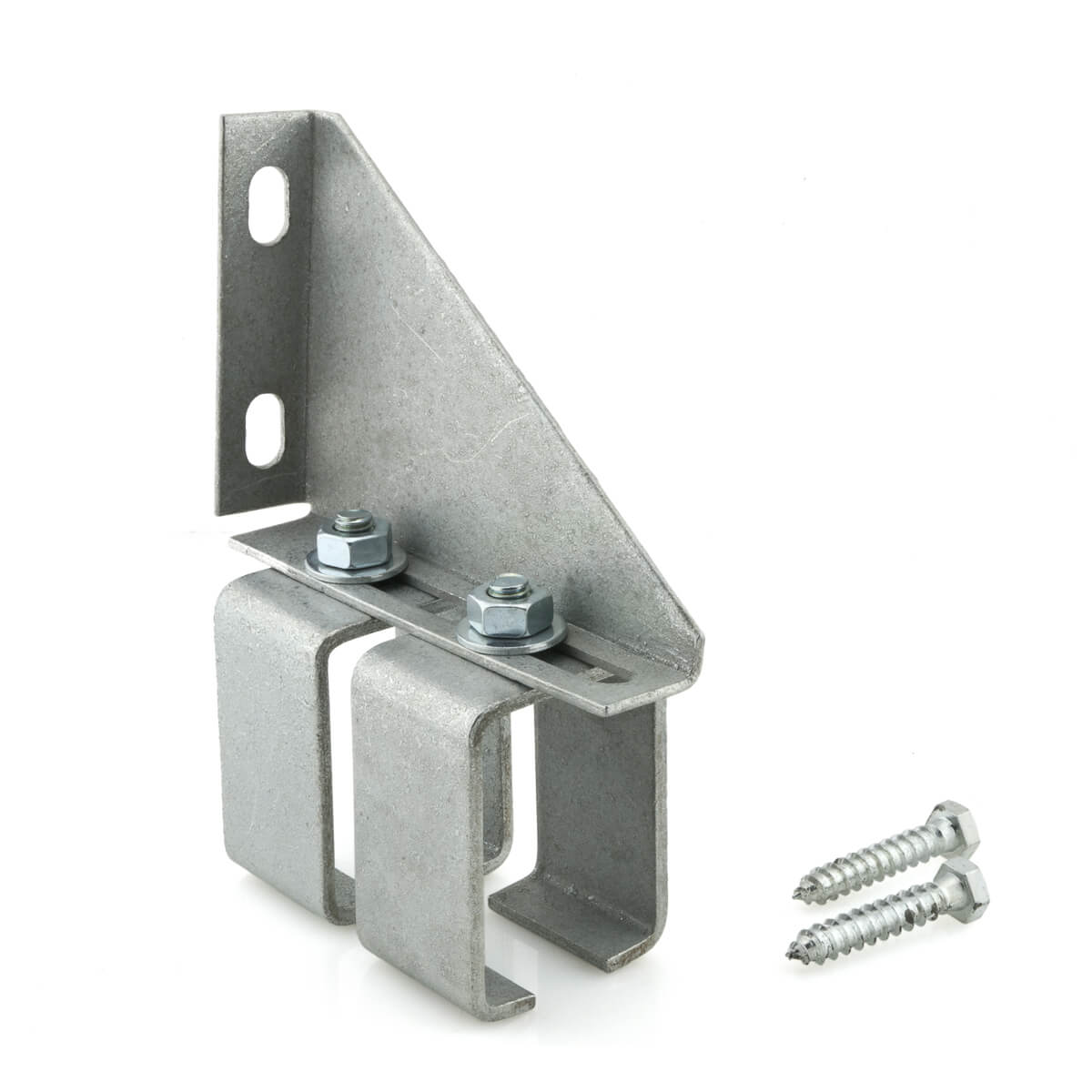 "Double Adjustable Box Rail Bracket - Wall Mount  - 1-3/4"" x 7-3/4"" x 4-7/8"""